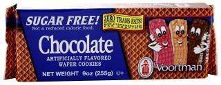 Voortman Sugar Free Chocolate Wafer Cookies 225g