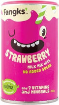 Fangks Strawberry Milk Mix No Added Sugar 200g