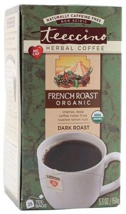 Teeccino French Roast Herbal Coffee 25 Tee-Bags