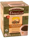 Teeccino Maya Choc Herbal Coffee 10 Tee-Bags