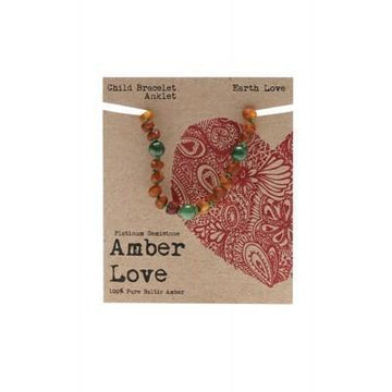 Amber Earth Love 14cm