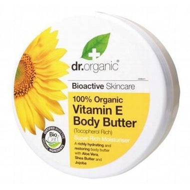 Vit. E Body Butter 200ml - DR ORGANIC