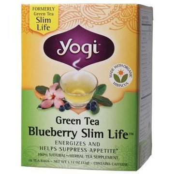 Blueberry Slim Life Tea Bags 16 bags