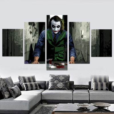 Clown Prince of Crime Canvas Set - Canvasist