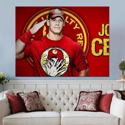 John Cena Canvas Set - Canvasist