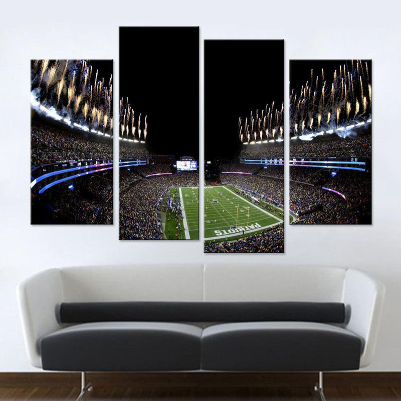Gillette Stadium Canvas Set - Canvasist