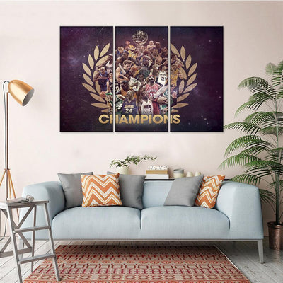 NBA Champions Canvas Set - Canvasist