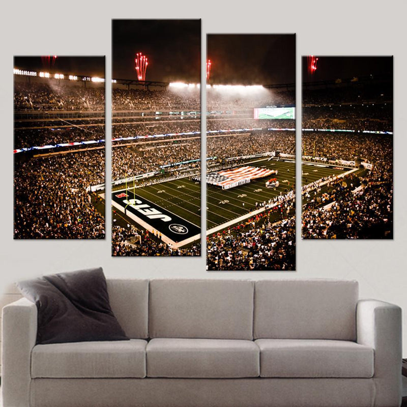 Gang Green Stadium Canvas Set - Canvasist