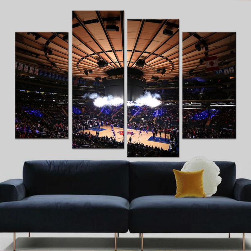The Knickerbockers Arena (2) Canvas set