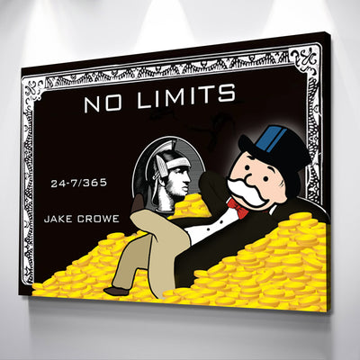 Custom Name Monopoly Credit Card - Canvasist