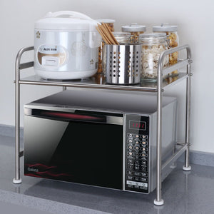 Stainless Steel Microwave Rack