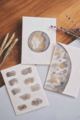Moon II (Set of 3 Cards) | by L - hello flowers!