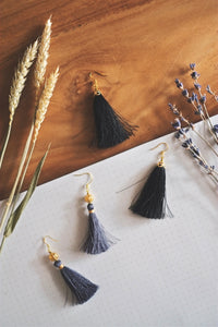 Tassel Earrings | by X - hello flowers!