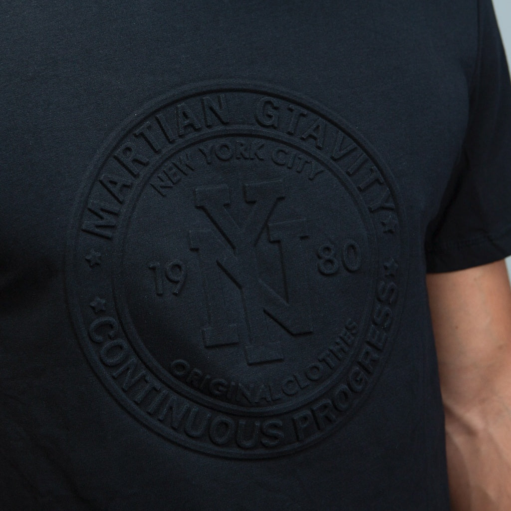 Embossed NYC Graphic T-Shirt