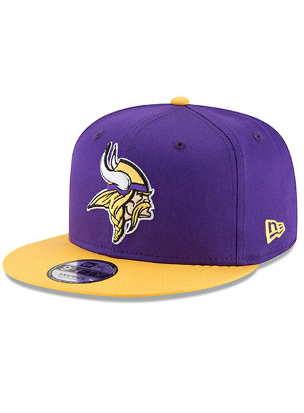 Men's New Era Vikings 9FIFTY Baycik Snapback Hat