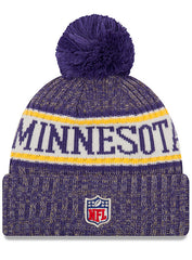 New Era Vikings 2018 Sideline Sport Knit