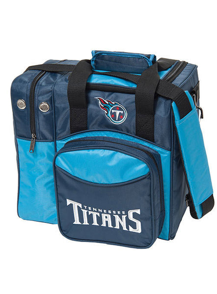 Tennessee Titans Single Ball  Tote Bag by KR Strikeforce
