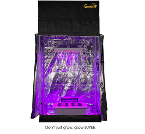 SuperCloset SuperRoom 2′ x 4′ LED Grow Room