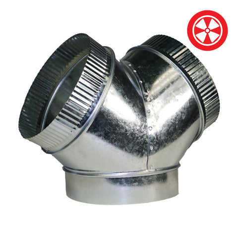 DL Y-Duct Connector - 8'' x 6'' x 6''