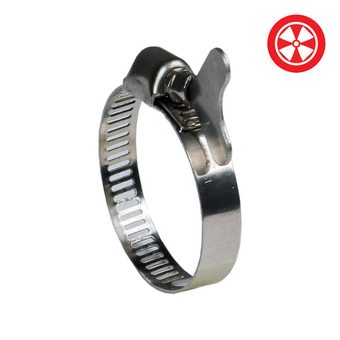 DL 0.75'' S/S Duct Clamp w/ Butterfly Screw