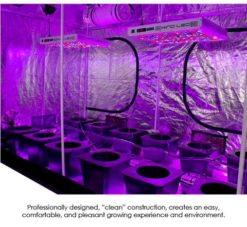 SuperCloset SuperRoom 5′ x 9′ LED Grow Room