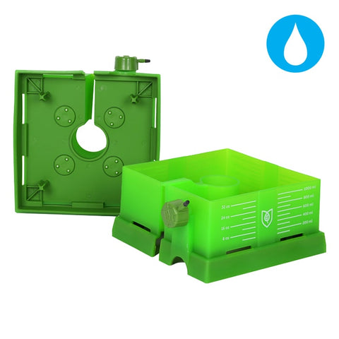 Image of FloraFlex Square Flood & Drip Shield w/ Quicker Drippers
