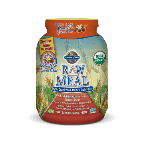 RAW Organic Meal Replacement - Vanilla Spiced Chai | Bulu Box - sample superior vitamins and supplements