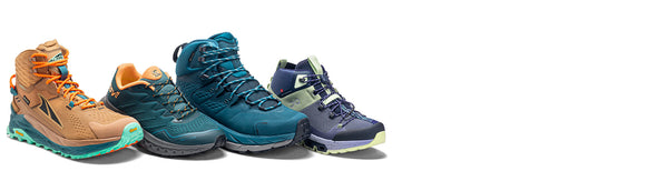 Collection of New Balance hiking shoes