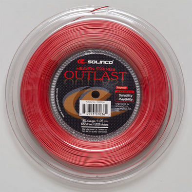 Solinco Outlast 16L 1.25 656' Reel