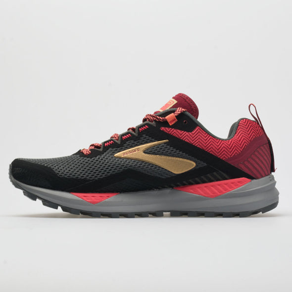 Brooks Cascadia 14 Women's Black/Rumba Red/Coral