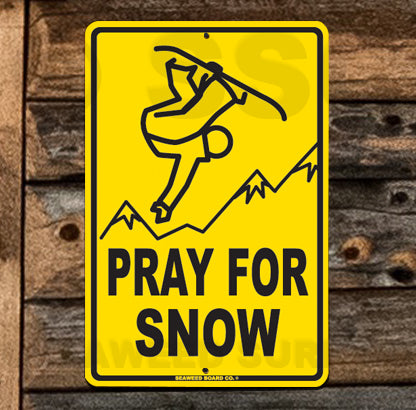 SN6 Pray for Snow - Seaweed Surf Co