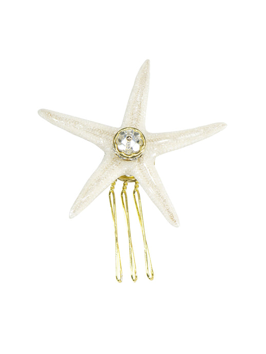 Seaside Sea Star Comb - Large in Gold