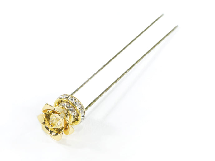Finishing Touch Blossom Hairpin - Gold