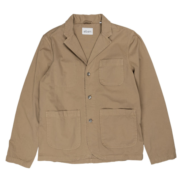Hedge Casual Blazer - Tobacco