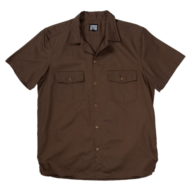 August Fifteenth Detroit Shirt Brown