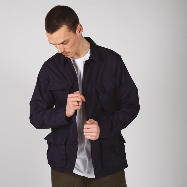 Ripstop Jungle Jacket - Navy