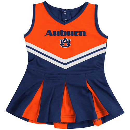 Auburn Pom Pom Infant Cheerleader Dress