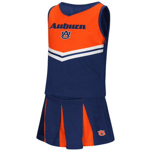 Auburn Pom Pom Toddler Cheerleader Outfit