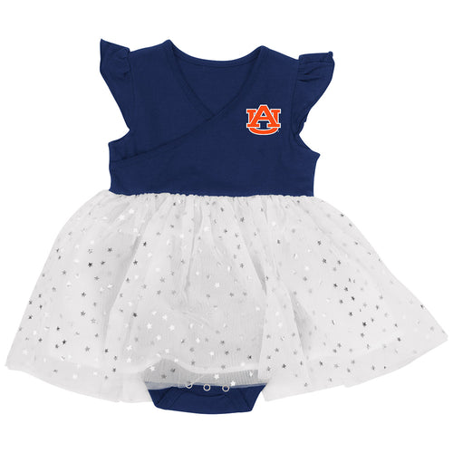 Auburn Baby Girl Tutu Bodysuit Dress