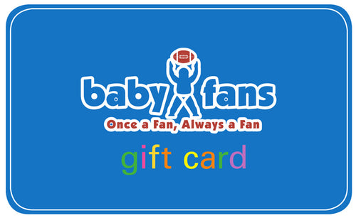Baby Fans Gift Certificate - Print Immediately