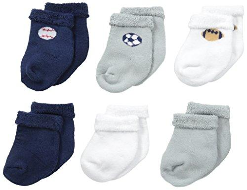 Baby Sports Socks 6-Pack