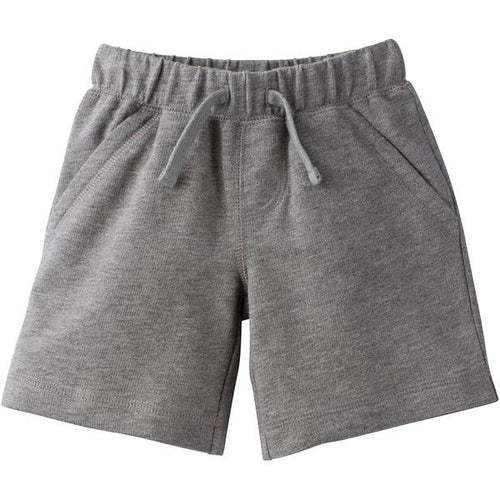 Favorite Team Matching Terry Cotton Shorts - Grey (12M-5T)