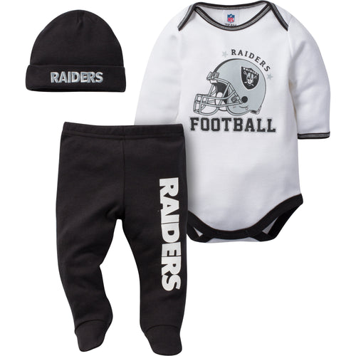 Raiders Baby 3 Piece Set
