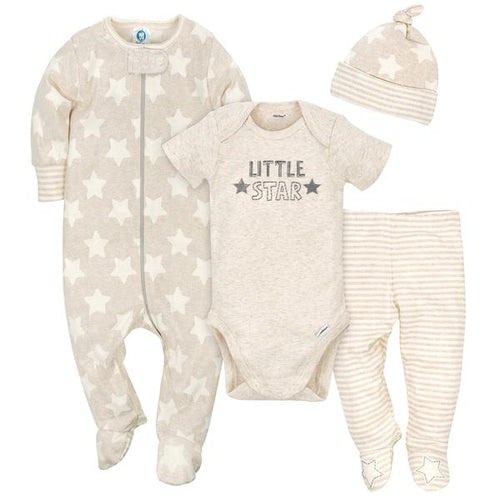 Little Star Baby Boy Tan Starter Set