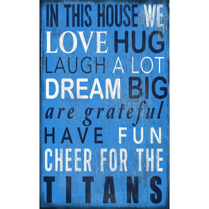 Titans Baby Nursery Wall Art