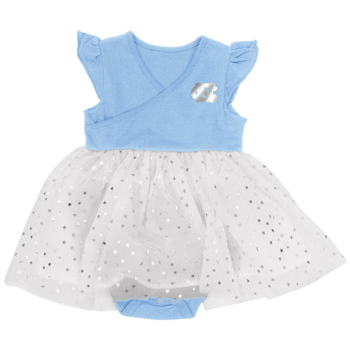 UNC Baby Girl Tutu Bodysuit Dress