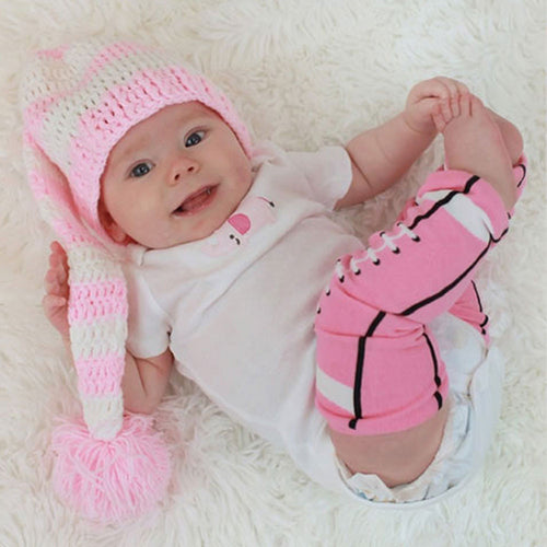 Infant Pink Football Leg Warmers