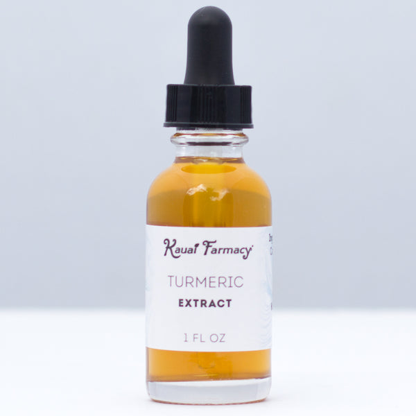 Kauai Farmacy Turmeric tincture alcohol extract gluten free