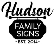 Hudson Family Signs