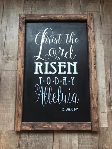 Christ the Lord is RISEN (framed)